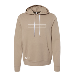 With God Hoodie