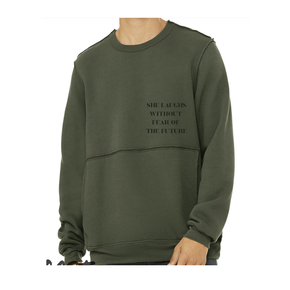 She Laughs Pullover