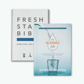 Fresh Start Bible SC & Blessed Life HB Bundle