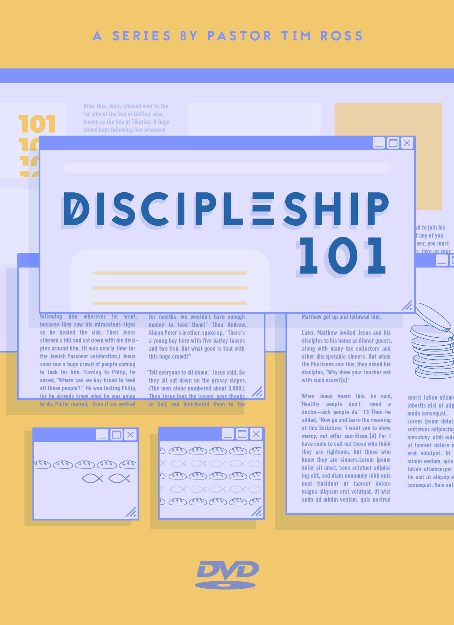 Discipleship 101 Series DVD