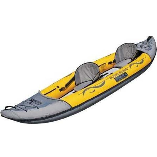 (Demo) 2019 Island Voyage 2 Tandem Kayak Yellow