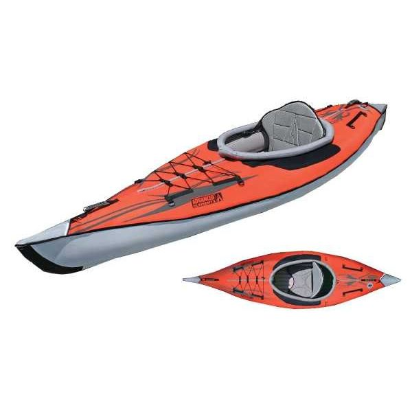 (Demo - Used) 2019 AdvancedFrame Inflatable Kayak Red