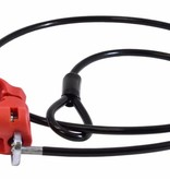 Malone Loop Lock 1.25'' Cable Lock For 1.25'' Tubing