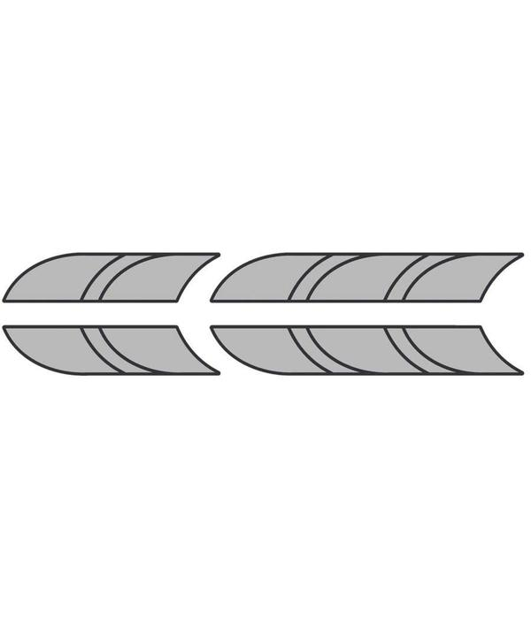 NuCanoe Crate Space Deck Pads (Bow & Stern)