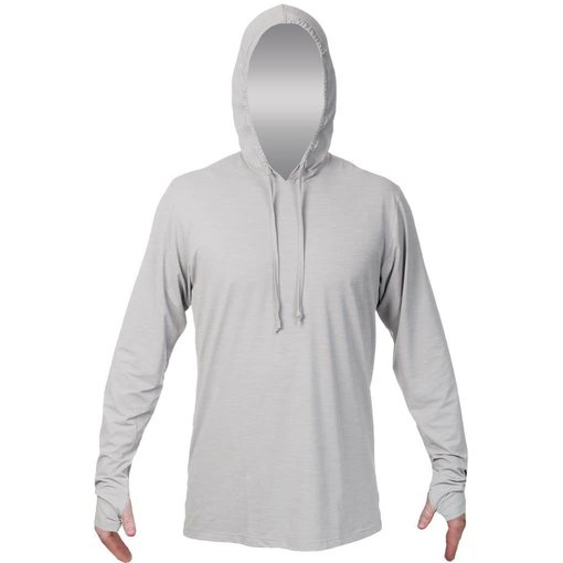 Anetik Equator Tech Hoody- Alloy Heathered
