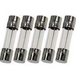 Fuses Unlimited 10a Fuse - 5*20mm (5-Pack)