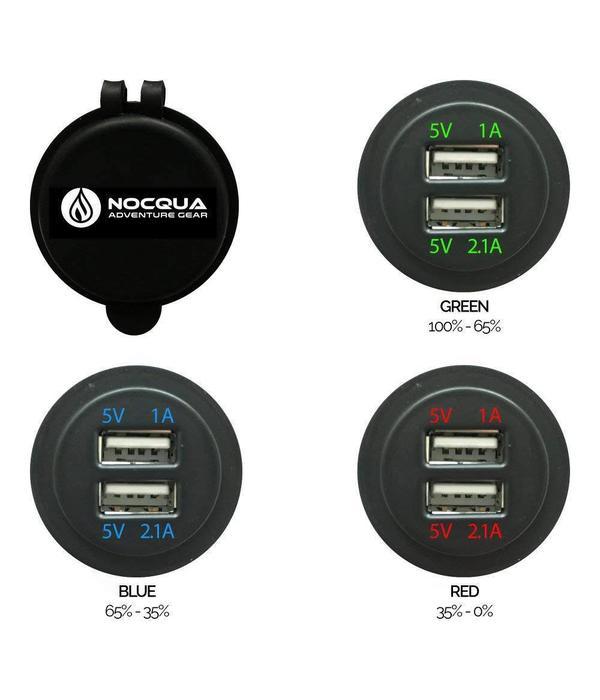 Nocqua Pro Power Dual USB Adapter