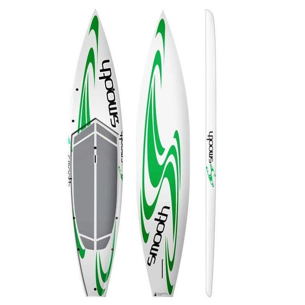 """Sup Smooth Glide 12'6"""" With Pad"""