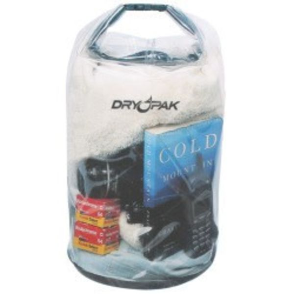 Clear Dry Pak Roll Top Bag