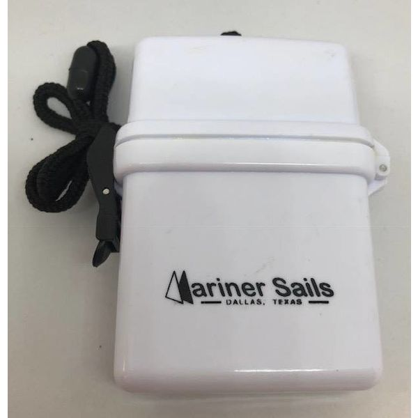 Dry Box With Lanyard White
