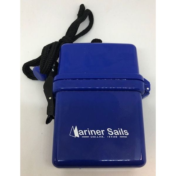 Dry Box With Lanyard Blue