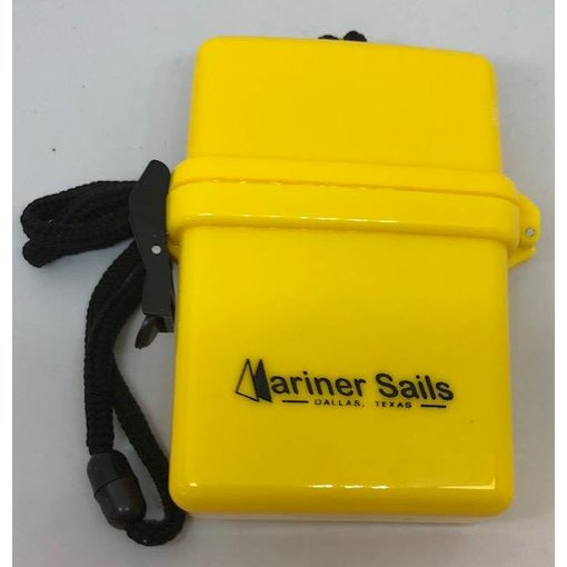 Dry Box With Lanyard Yellow