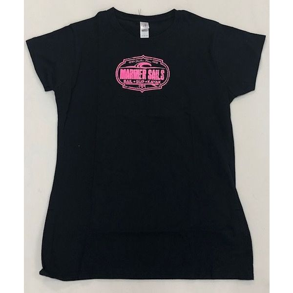 T Shirt Womens Black XX-Large