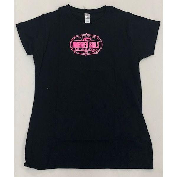 T Shirt Womens Black X-Large
