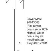 Hobie Bravo Lower Mast