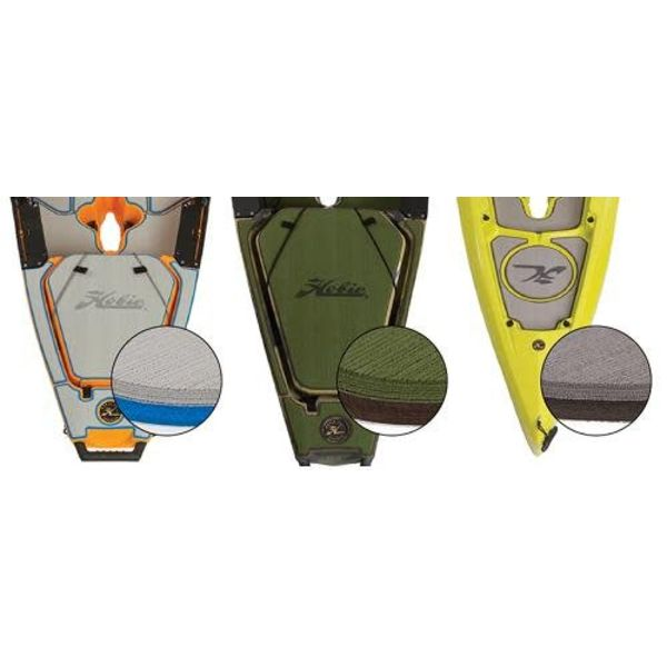 PA 12 Deck Pad Kit Interior Green/Espresso