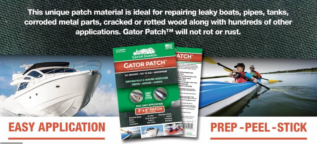 Gator Patch Kayak Keel Protector & Repair