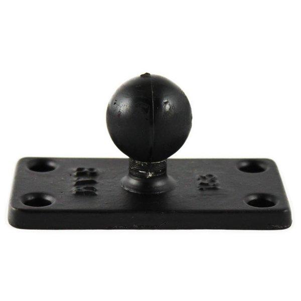 "Helix 5 - 1""Ball Base With 1"" x 2.5"" 4-Hole Pattern"