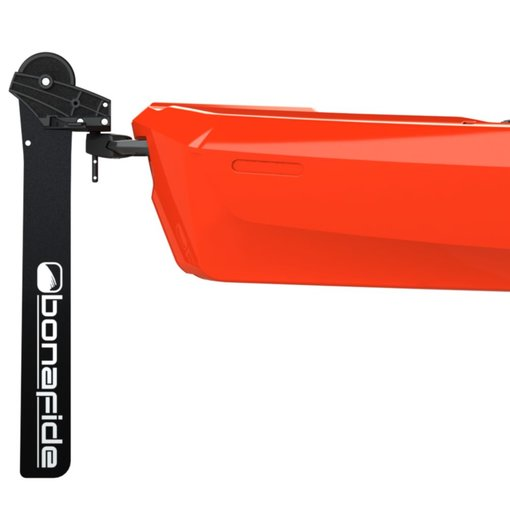 Bonafide RS117 Top Run Rudder System Featuring the YakAttack SwingBlade