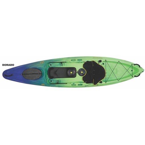 Viking Kayaks (Demo) Profish GT With Kid Pod & 2 Flush Mount Rod Holders Dorado