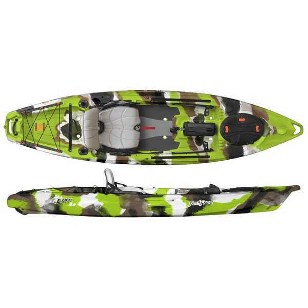 (Demo) Lure 11.5 With Overdrive & Rudder Lime Camo