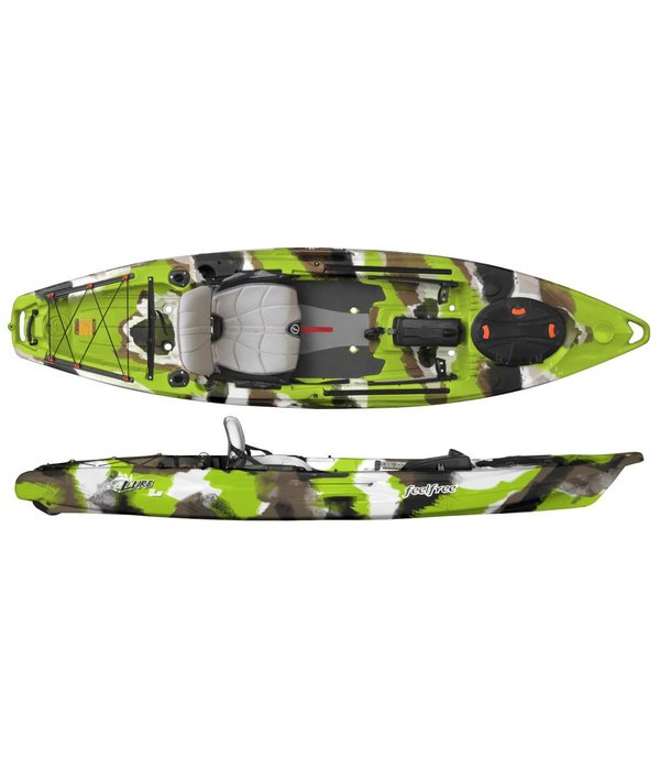 FeelFree (Demo) Lure 11.5 With Overdrive & Rudder Lime Camo