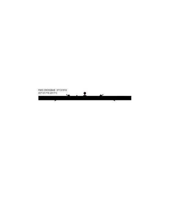 Hobie Crossbar Getaway Forward Assembly 17+