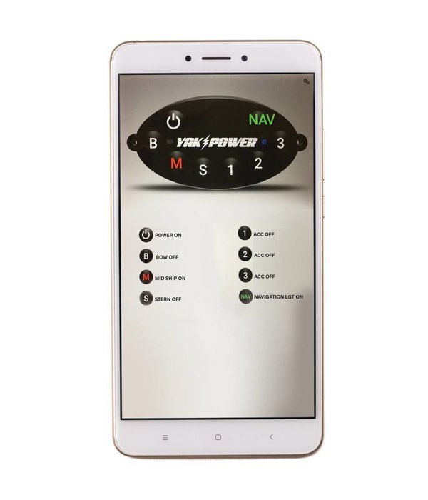 YakPower 8 Circuit Bluetooth Enabled Switching System