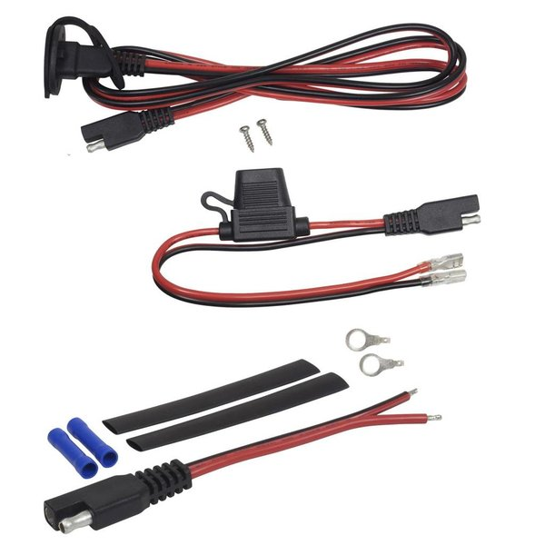 (New) 8 Foot Fish Finder Power Kit - March