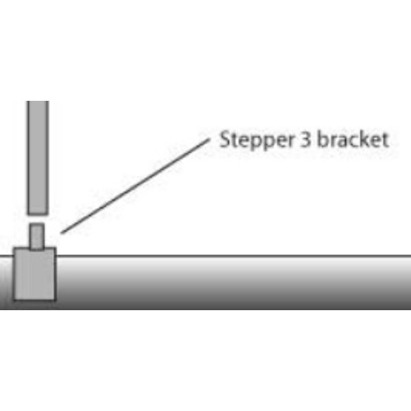 Mast Stepper Base Bracket