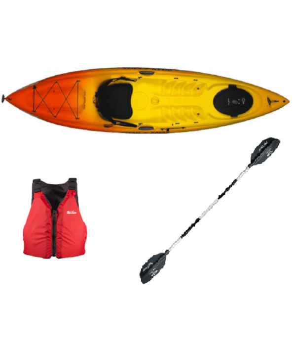 Prior Year Model 2019 Caper Sunrise Package With Paddle And Pfd