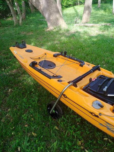 Boonedox Groovy Landing Gear Kayak Wheel System HD Kit