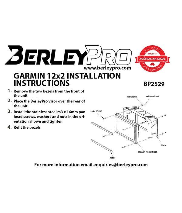 BerleyPro Garmin 12x2 - GPSMAP® 1222 & 1242 Visor