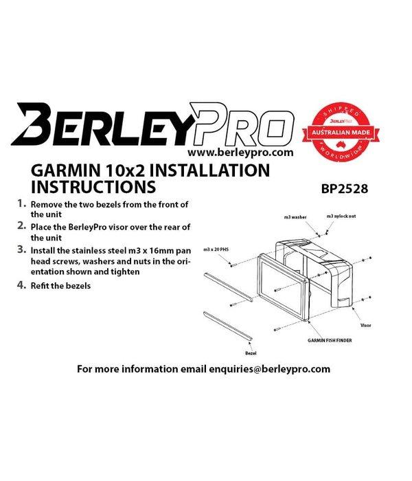 BerleyPro (New) Garmin 10x2 - GPSMAP® 1022 & 1042 Visor