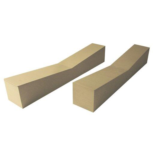 Malone FoamHome Storage Blocks 5'' x 5'' x 28'' (Pack Of 2)