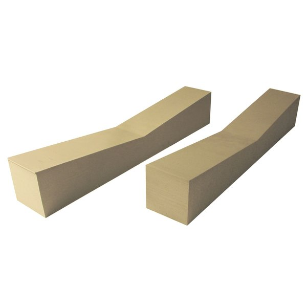FoamHome Storage Blocks 5'' x 5'' x 28'' (Pack Of 2)