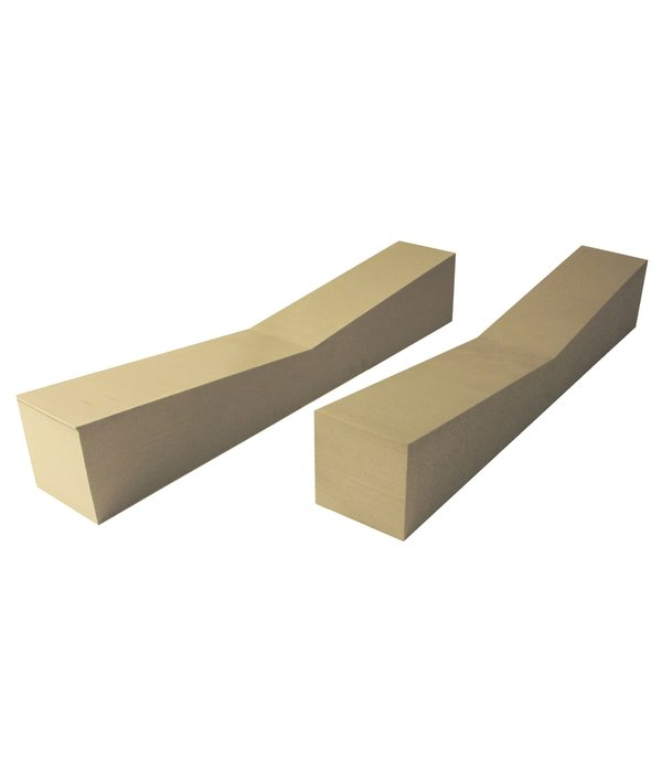 Malone FoamHome Storage Blocks 5'' x 5'' x 28'' (Pack Of 2)