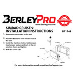 BerleyPro Simrad Cruise 9 Visor