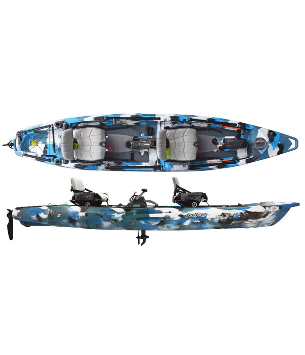 FeelFree Lure II Tandem Overdrive (Includes Beavertail and 8-Ball)