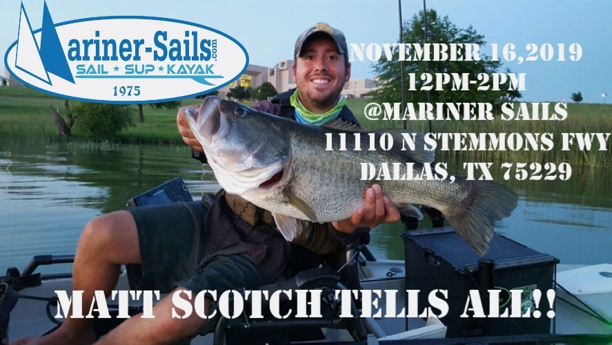 Mariner Sails Clinic- Matt Scotch Tells ALL!