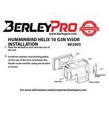 BerleyPro Humminbird Helix 10  G3N Visor
