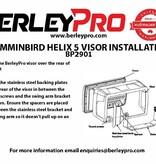 BerleyPro Humminbird Helix 5 Visor