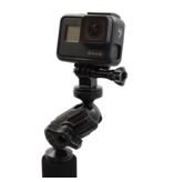"""Yak-Attack Articulating Pro Camera Mount Includes 1/4""""-20 Mount And Gopro"""