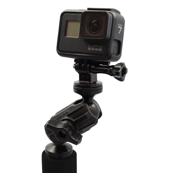"Articulating Pro Camera Mount Includes 1/4""-20 Mount And Gopro"