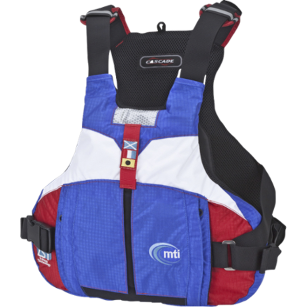 (Discontinued) Cascade PFD Red/White/Blue Small/Medium