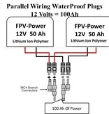 FPV-Power IP67 Parallel Wiring Coupler 60A