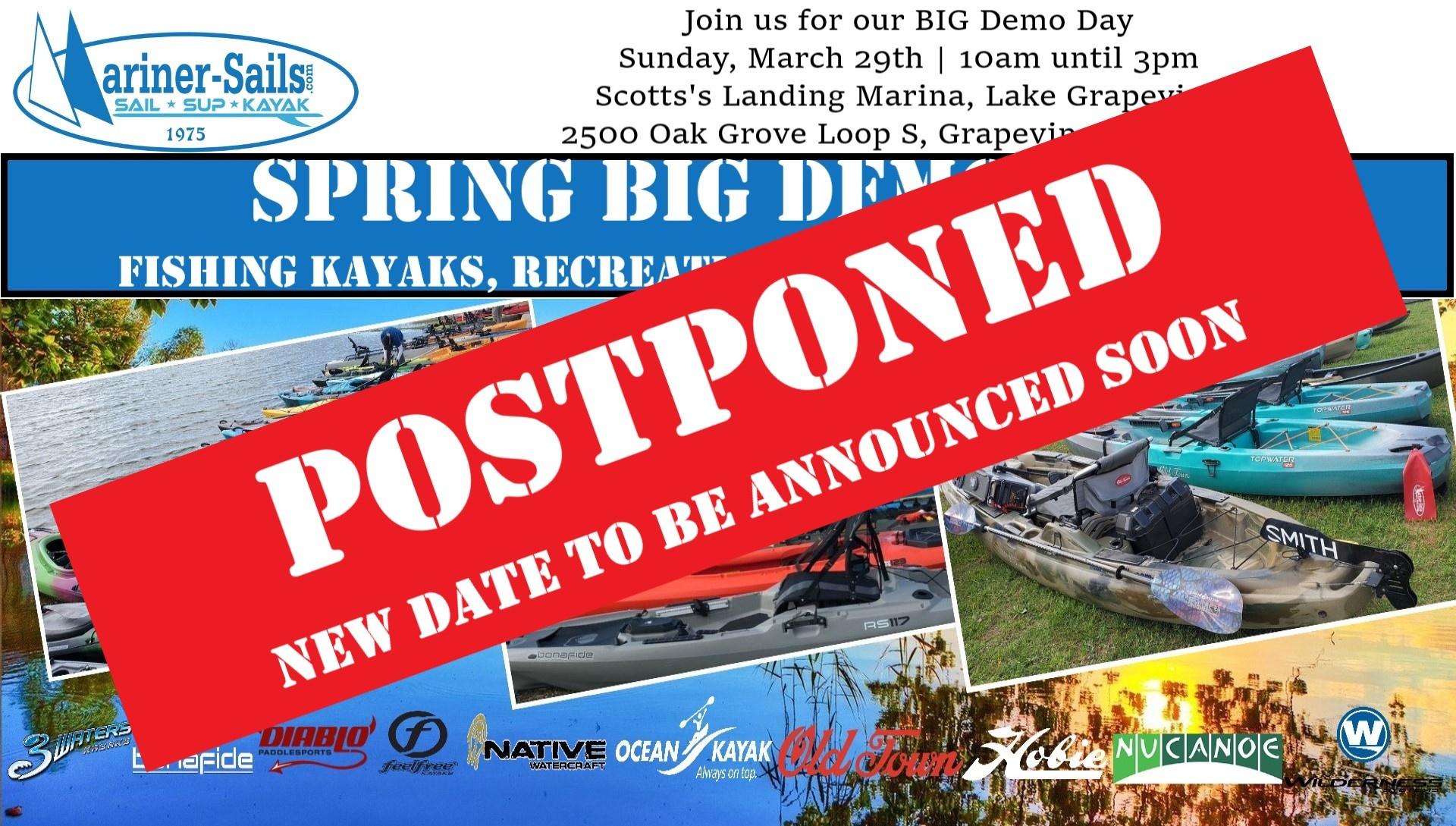 Spring Demo Postponed