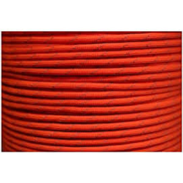 USA Made 550 Paracord With Reflective Tracer Orange (Per Foot)