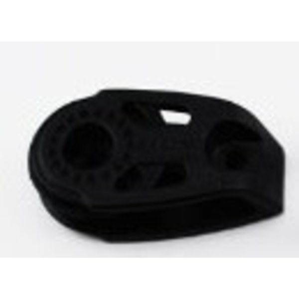 Block Cheek 29mm Black Nylon
