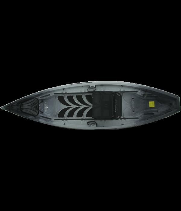 NuCanoe Frontier 12 Basic Decking Kit Thunderstorm (Black On White Camo)